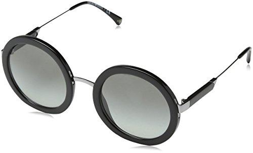 Emporio Armani Damen 0ea4106 Sonnenbrille, Schwarz (Black), 51