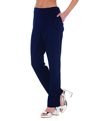 AnnaCristy Damen Hose Blau (Blu)