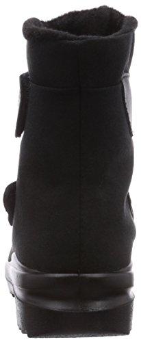 Florett Ina Damen Warm gefütterte Schneestiefel Schwarz (schwarz 60)