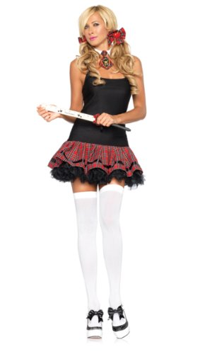 Leg Avenue A1029 - School Girl Kit School Girl Leg