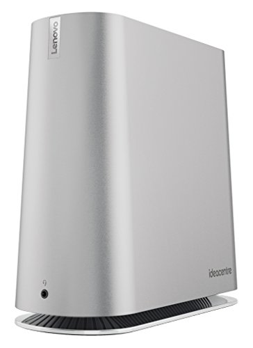 Lenovo ideacentre 620S-03IKL Desktop, Processore Intel I5-7400T, RAM 8 GB, Storage 256 GB SSD, Grafica Nvidia GTX1050Ti da 4GB DDR5, Windows 10, Silver, 90HC0017IX