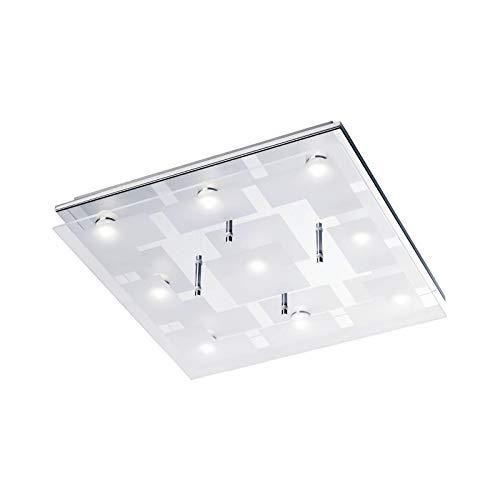 Lámpara LED de techo para salón, lámpara de pasillo rectangular (lámpara de...