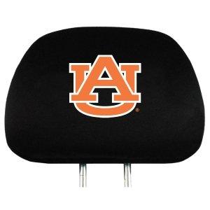 Team Promark HRU007 Headrest Covers- Auburn-HR- Black