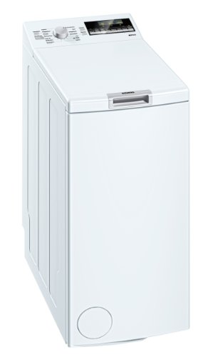 Siemens iQ 500 WP12T444 Waschmaschine Toplader/A++ B / 1200 UpM / 6 kg/weiss / Nachlegefunktion/Wolle-Handwasch Programm