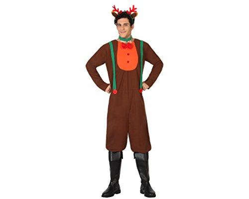Atosa 26960–Costume da renna per adulti–Taglia L