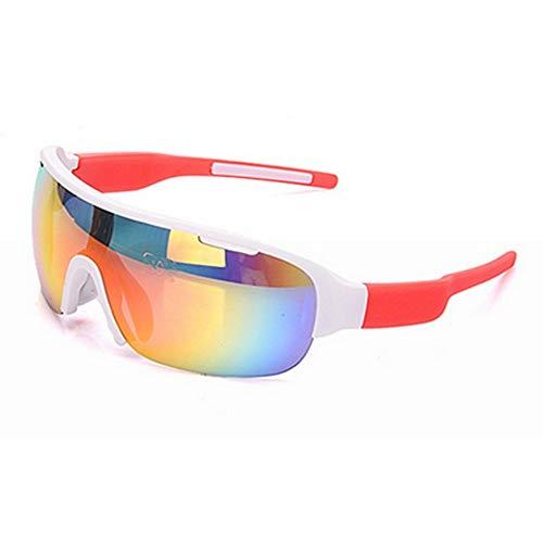 BJYG Sport-Sonnenbrille Coole Persönlichkeit Outdoor-Sport-Sonnenbrille Urlaub Entspannung Unisex Wechselobjektiv Clip-Typ UV-Schutz Sonnenbrille Strand Reisen Sonnenbrille Selbstfahrend Familien
