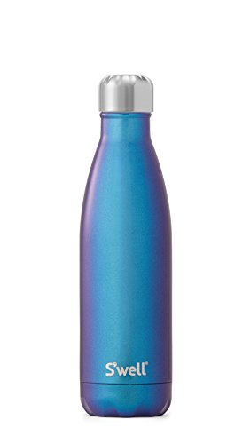 Swell Botella Termo, Acero Inoxidable, Neptuno, 7.11x7.11x26.4 cm