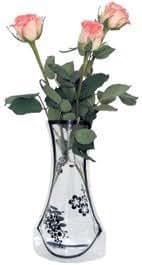 Vase vase pliable, 12 pièces multicolore