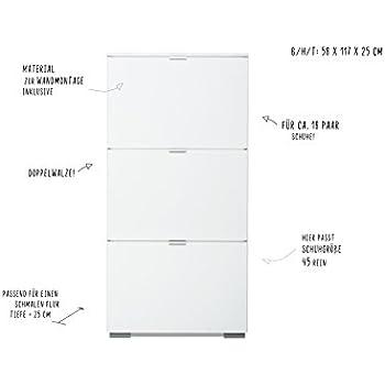 schuhschrank mit glasablage 16 paar schuhe pharao24 k che haushalt. Black Bedroom Furniture Sets. Home Design Ideas