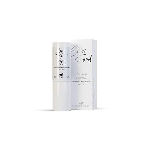 Lippenpflege, Hyaluron und Aloe Vera Anti Aging Lipstick, Anti-Falten Pflege für gepflegte und gestraffte Lippen, antioxidativ, bio, vegan, OHNE Mineralöl
