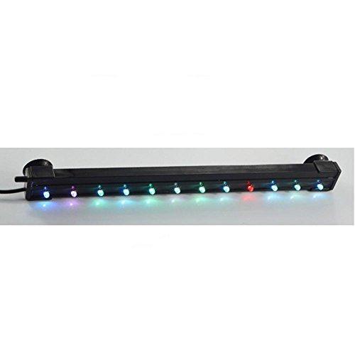 LED Aquarium Licht Fisch Wasserdichte Beleuchtung bunte Farbe Blase Lampe Tauchen dekorative Lampe Lichtleiste , C (Tauchen Tanks)