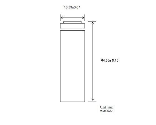 Samsung SDI (3,6 Volt, 2500mAh, 10C, 2er Pack) 18650 - 2