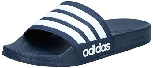 adidas Herren Cf Adilette Dusch-& Badeschuhe, Blau (Collegiate Navy/footwear White/collegiate Navy 0), 42 EU