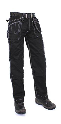 KREB Workwear Arbeitshosen mit Kniepolstertaschen Edwin Handwerkerhose