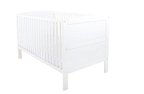 East Coast Hudson Cot Bed (White)