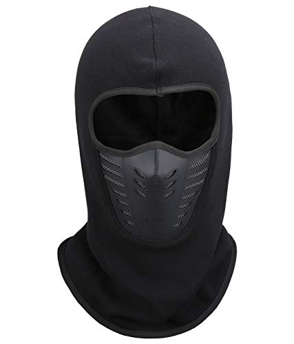 Magic Zone Passamontagna Facemask, Moto e Sport Invernali Fleece Maschera Antivento Sci Maschera Balaclava per Uomo e Do