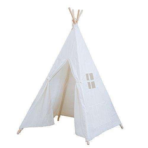 RONGFA 2017 neue weiße Kinder spielen teepee Zelt Innen mit einem Fenster