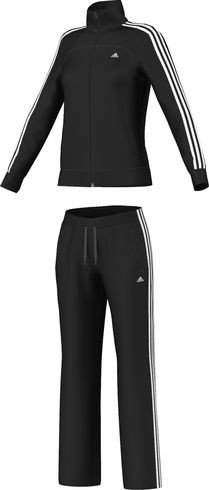 Tuta adidas Essentials 3-stripes, donna nero nero XXS