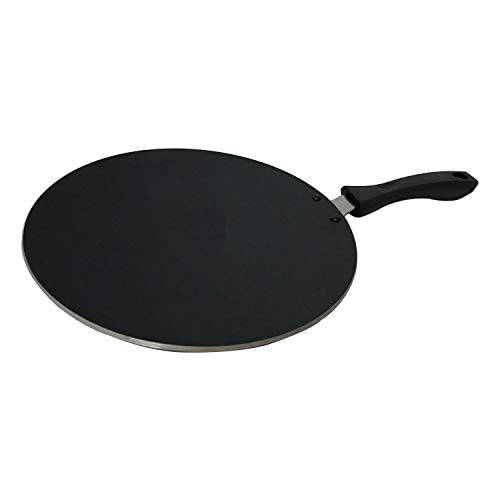 G&D Hard Anodised Concave Tava Griddle Tawa Cooking Utensil Cookware Kitchen Tava Chapati Roti Maker Nonstick Flat Multi Tawa Roti Chapati Flat Bread Cake Ideal To Make Roti/Chapati/Paratha