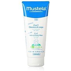 Mustela 2en 1Hair & Body Shampoo 6.76ounces Taille: 6.76Oz