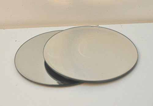 tea-light-candle-mirrored-display-round-plates-set-of-two-by-four-seasons-liverpool