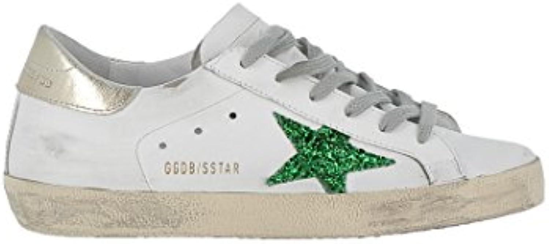 GOLDEN GOOSE Mujer G32WS590G64 Blanco Cuero Zapatillas