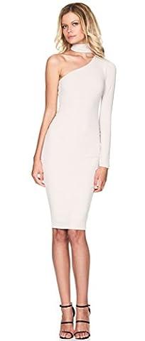 ALAIX - Robe sexy - Femme - Blanc - Medium