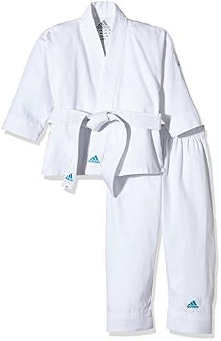 adidas Karate Uniform Kids, brilliant white, 110/120,