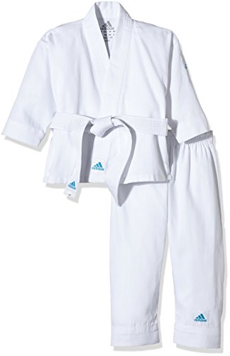 Adidas tuta karate bambini, bianco, 150/160, k200e