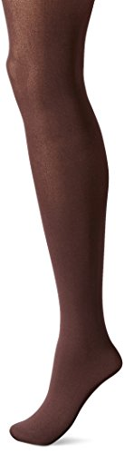 Hue Women's High Waist Tights with Control Top, Espresso, 03 -