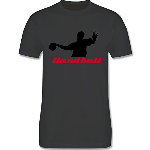 Handball - Handball - Herren Premium T-Shirt Dunkelgrau