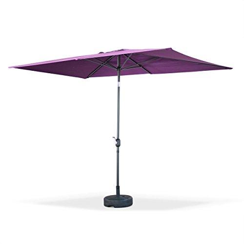 parasol rectangulaire alice garden