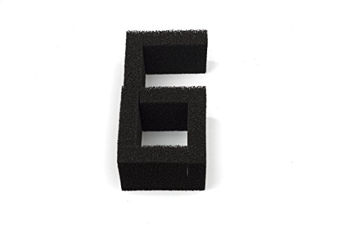 LTWHOME Carboné Mousseux Filtration Tapis Pour Aquarium Média Convient Juwel Compact (paquet de 6)