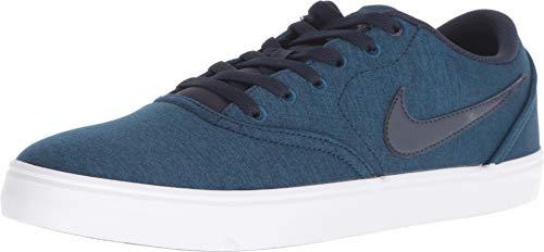 3f8ba42703 Nike SB Check Solar Cnvs PRM, Zapatillas de Skateboarding Unisex Adulto,  (Blue Force
