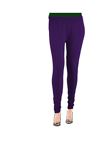 Roshnee Collection Lycra Premium Leggings - Purple (XXL)