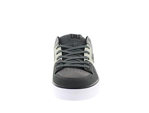 DC Shoes Herren Pure Se M Shoe Gbg Sneaker, 45 EU Grey Black Grey
