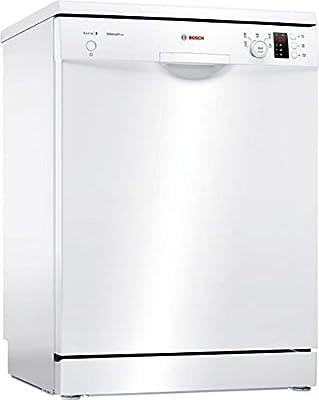 Bosch Serie 2 SMS25DW05E lavavajilla Independiente 13 cubiertos A++ - Lavavajillas (Independiente, Blanco, Tamaño completo (60 cm), Blanco, Botones, Giratorio, 1,75 m)