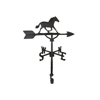 Montague Metal Products Wetterfahne mit schwedischem Pferd, 81 cm