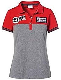 baa903c8 Porsche Damen Martini Racing Polo-Shirt Gr. XS, rot/grau - WAP9210XS0J