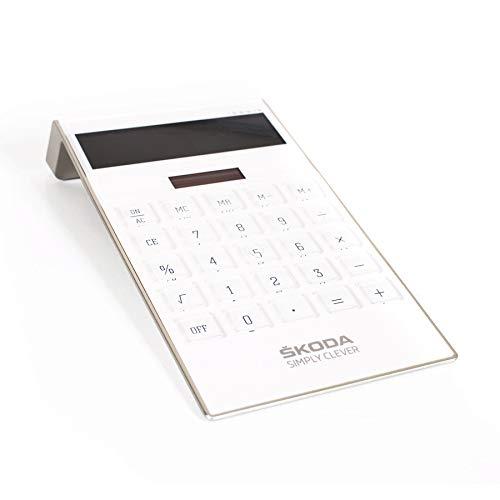Splaks 2 Pack 12-stellig Standard Funktion Tischrechner B/ürorechner Rechenmaschine Solar Schwarz + Silber und AA Batterie betrieb Calculator mit gro/ßem Display Taschenrechner