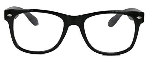 KULT ! klassische Nerdbrille Streberbrille 50er 80er Jahre -
