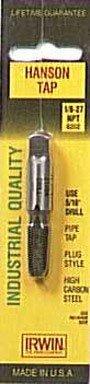 Hanson HAN8202 High Carbon Steel Taper Pipe Tap 1/8 Inch-27