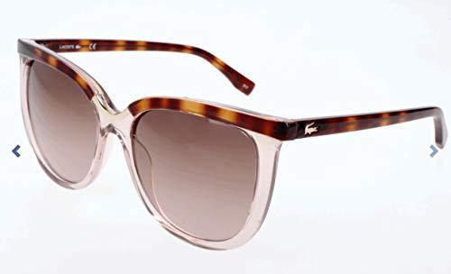 Lacoste Damen L825S Sonnenbrille, Grau, 56 (Sonnenbrillen Lacoste Mann)