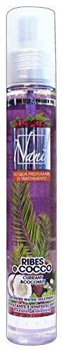 NANI Wasserkörper Johannisbeeren / 75 ml Kokosnuss. - Frauen-Parfüm (Duftenden Parfüm Kokos)