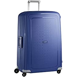 Samsonite S'Cure - Spinner XL Valise, 81 cm, 138 L, Bleu (Dark Blue)