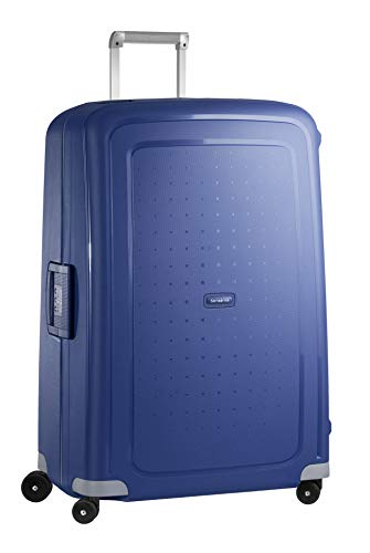 Samsonite S'Cure Spinner Suitcase, 81 cm, 138 L, Bleu (Dark Blue)
