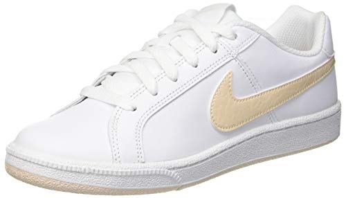Nike Wmns Court Royale, Scarpe da Tennis Donna, Bianco (White/Wild Cherry/Noble Red 119), 36.5 EU
