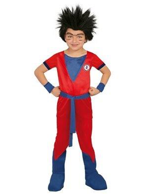 Costume goku dragon ball bambino taglia - small 5 - 6 anni 110 - 115 cm