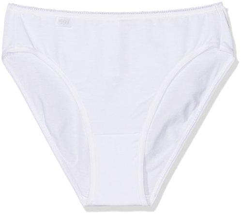 Sloggi Damen Slip 24/7 Cotton TAC3 3er Pack, Weiß (White 03), 40