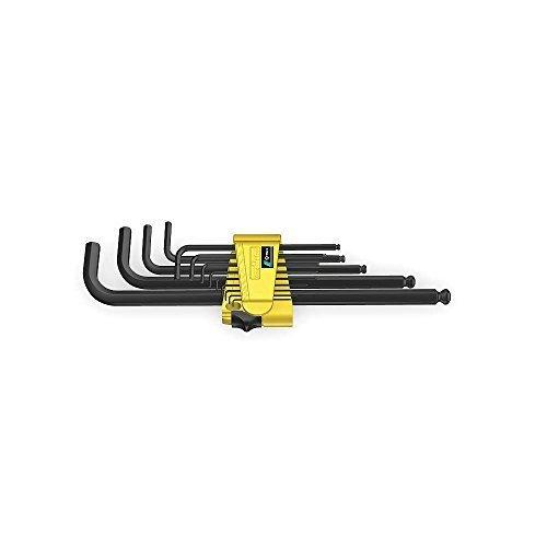 Preisvergleich Produktbild Wera - Wera 950 PKL/13 SZ N Ballpoint Hex Key Set, 13 Pc, Imperial - 5021728002 by Wera